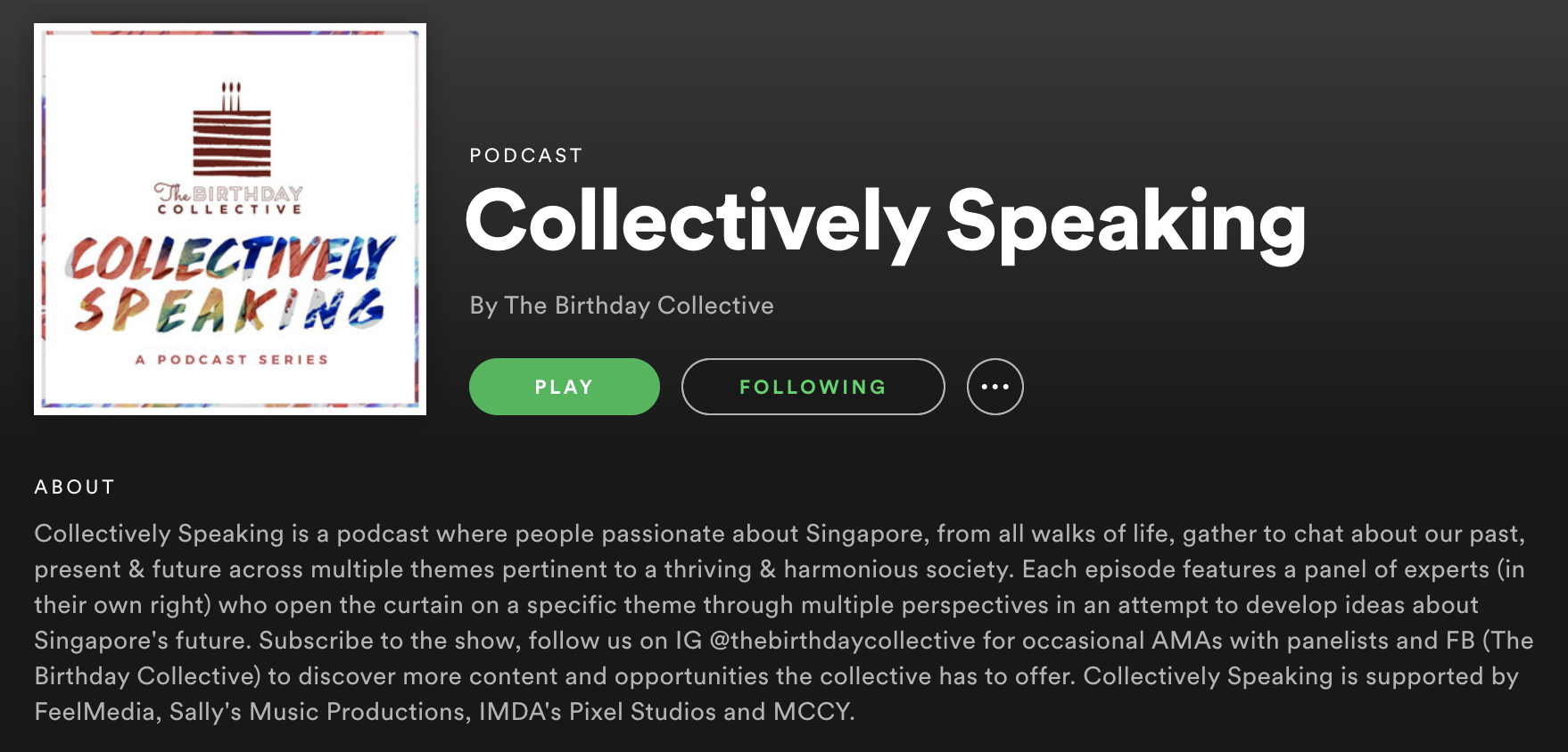 Podcast: Collectively Speaking